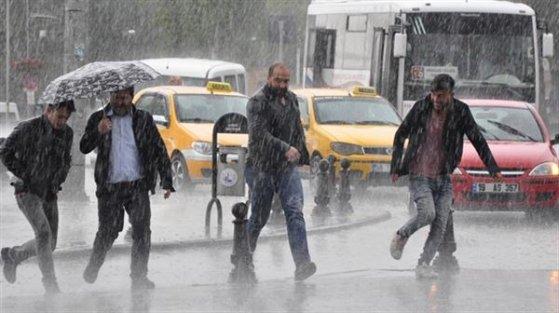 İstanbul'a uyarı: Yağışlar artabilir