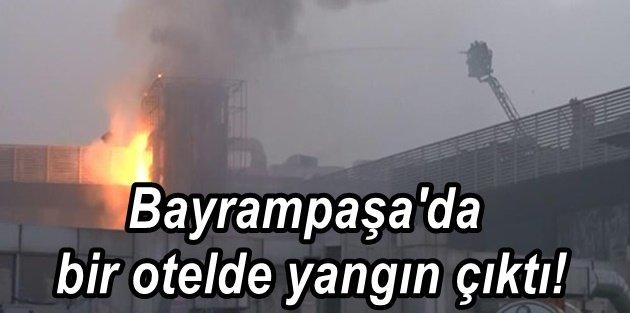 İstanbul'da 5 yıldızlı otelde yangın paniği