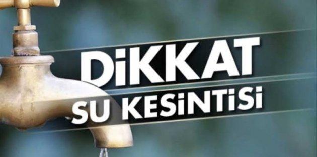 İstanbulda 6 ilçede 30 saatlik su kesintisi yaşanacak