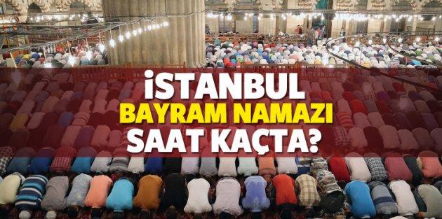 İstanbul'da bayram namazı sabah saat kaçta? Diyanet net saati açıkladı!