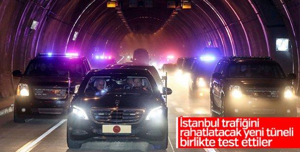 İstanbul'da mesafeleri kısaltacak tünel açıldı