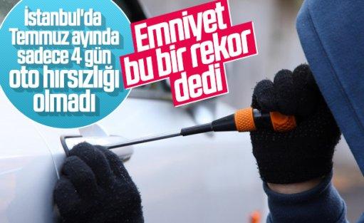 İstanbul'da otomobil hırsızlığında düşüş yaşandı