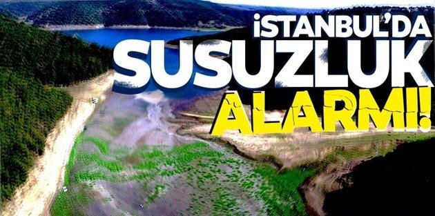 İstanbul'da sular mı kesilecek? Koronavirüsle boğuşan İstanbul'a su uyarısı!
