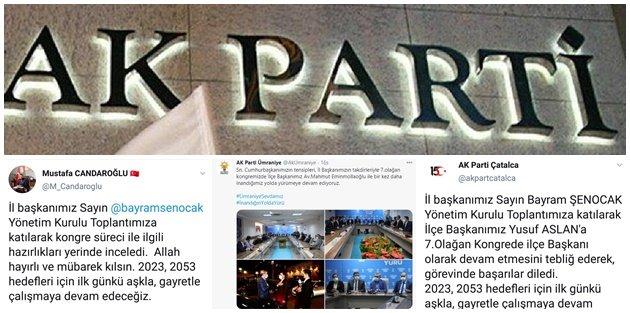 İşte AK Parti'nin İstanbul'da Devam Eden İlçeleri!
