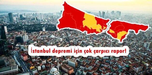 İşte ilçe ilçe İstanbulun deprem risk haritası