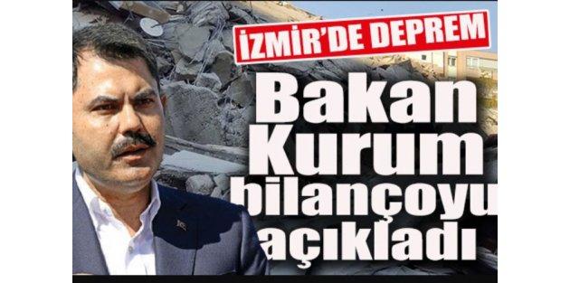 İzmir depremindeki son bilanço açıklandı: 21 ölü, 24'ü ağır 799 yaralı