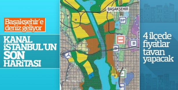 Kanal İstanbul; Avcılar, Küçükçekmece, Başakşehir ve Arnavutköy'den Geçecek