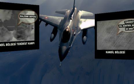 Kandil'de 100 terörist öldürüldü