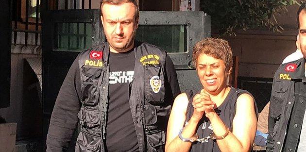 Karaköy'de başörtülü kadına saldırının faili adliyeye sevk edildi