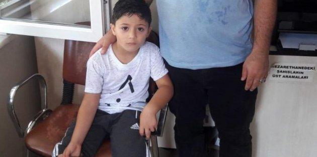 Kayıp Suriyeli çocuk Gaziosmanpaşada bulundu...