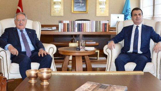 Koalisyon Görüşmeleri Tam Gaz devam :AK Parti ve CHP heyetleri arasındaki görüşme başladı