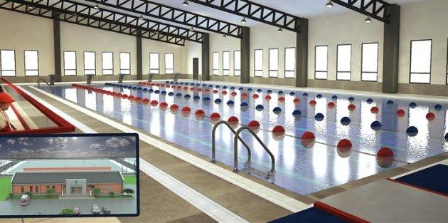 Küçükköy Yarı Olimpik Yüzme Havuzu İnşaatına Başlıyor...