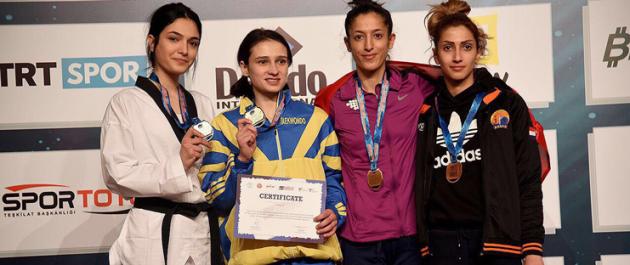 Kulüpler Avrupa Tekvando Şampiyonasında Gaziosmanpaşadan Büyük Başarı