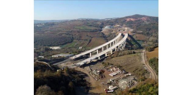 Kuzey Marmara Otoyolu'nda sona yaklaşıldı