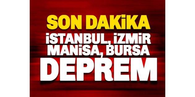 Manisa'da korkutan deprem! İstanbul ve İzmir'de de hissedildi