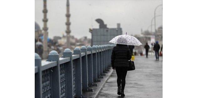 Marmara Bölgesi'nde yağmur ve sağanak etkili olacak