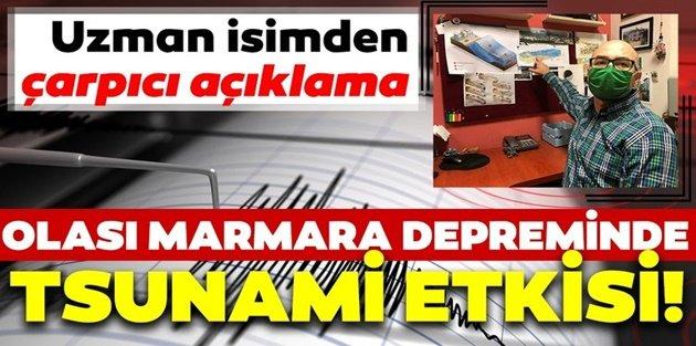 Marmara kıyıları tsunami potansiyeli taşıyor, Eyüp'e bile gidebilir