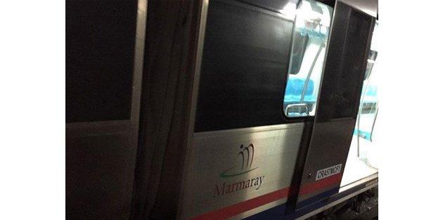 Marmaray'da seferler yapılamıyor