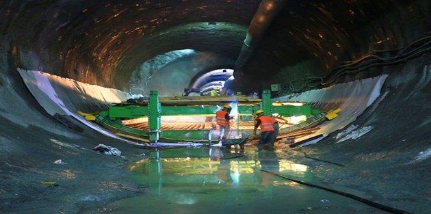 Mecidiyeköy-Mahmutbey metro hattında sona gelindi