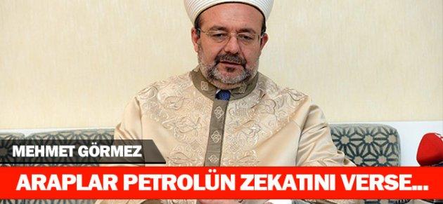 Mehmet Görmez: Petrolün Zekatını Verseler Afrikada Kimse Aç Kalmaz