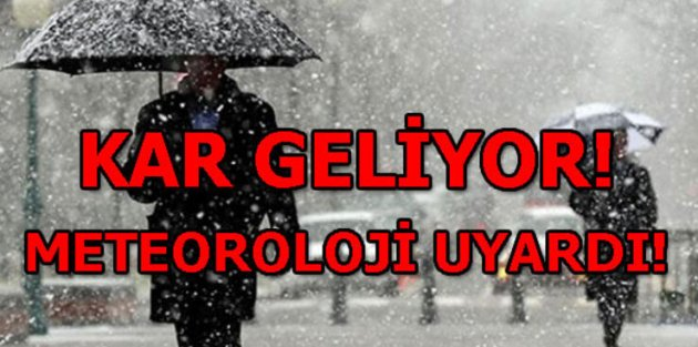 Meteoroloji'den uyarı üstüne uyarı...Türkiye'yi etkisi altına alacak!