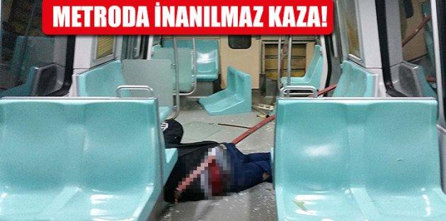 Metroda kalçasına demir saplanan adamın babasından flaş karar!