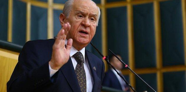 MHP Genel Başkan Bahçeli: PKK'lı teröristlerin başına ödül koymak PYD/YPG'yi perdelemektir
