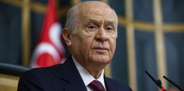 MHP Genel Başkanı Bahçeli: Ekonomide felaket senaryosu yazanlar utanmasını kaybetmiş densizlerdir
