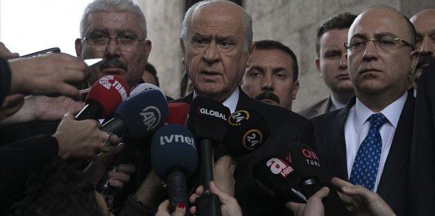 MHP Genel Başkanı Bahçeli: İstanbul'da yeni bir seçim düşünülebilir