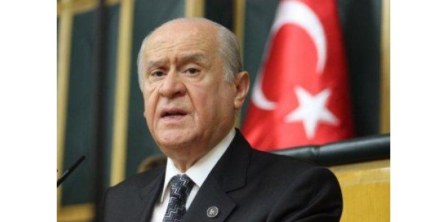 MHP lideri Bahçeli'den K.Irak referandumuna tepki