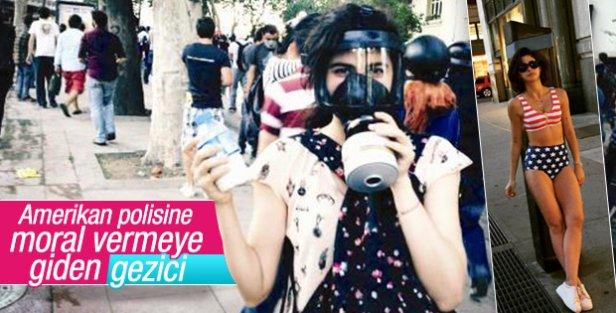 Nesrin Cavadzade'den ABD'li polislere destek
