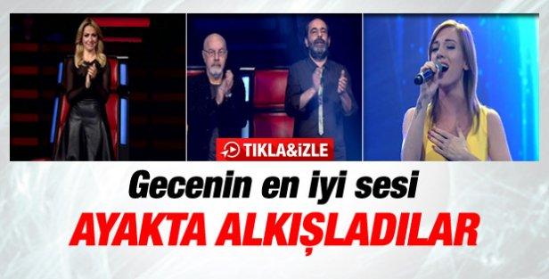 O Ses Türkiyede gecenin en iyi sesi Duygu Sayar