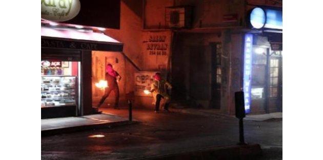 Okmeydanında polisle çatışma