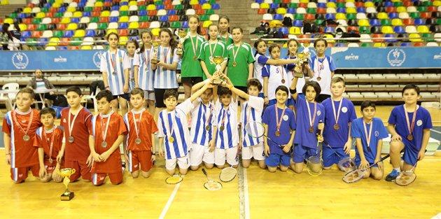 Okul Sporları Badminton Turnuvası'na Gaziosmanpaşa Damgası
