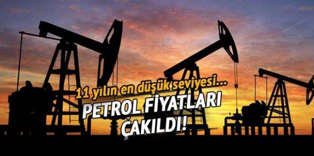 Petrol fiyatları çakıldı!