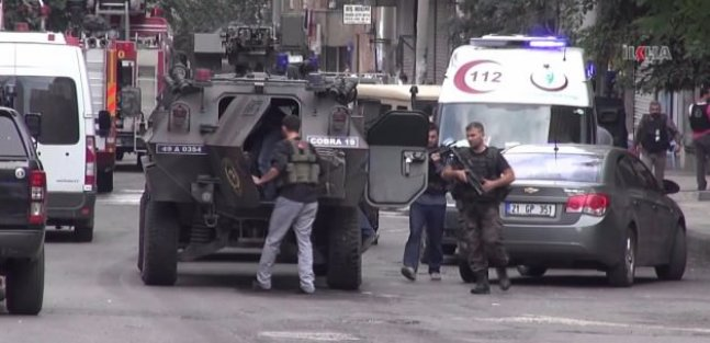 PKK 5 yıldızlı otele saldırdı! Çatışma çıktı