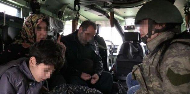 PKK'nın rehin tuttuğu aile böyle kurtarıldı...