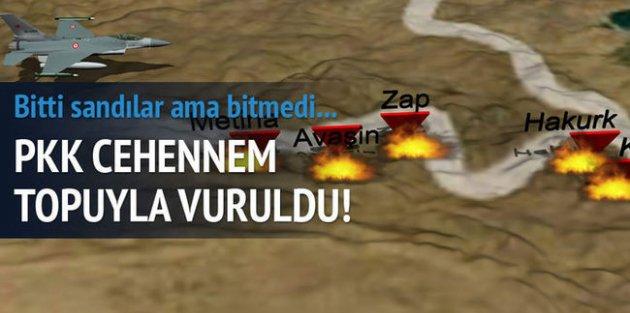 PKK'ya üst üste darbe!