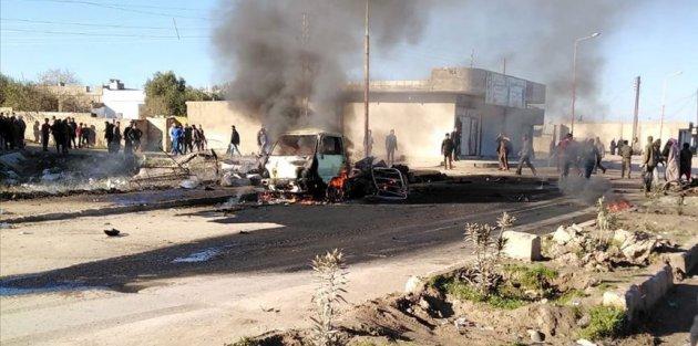 PKK/YPG Tel-Halaf'ta sivillere saldırdı: 5 sivil yaşamını yitirdi