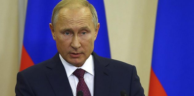 Rusya Devlet Başkanı Putin: DEAŞ Suriye'de ABD ve Avrupa vatandaşlarını esir aldı