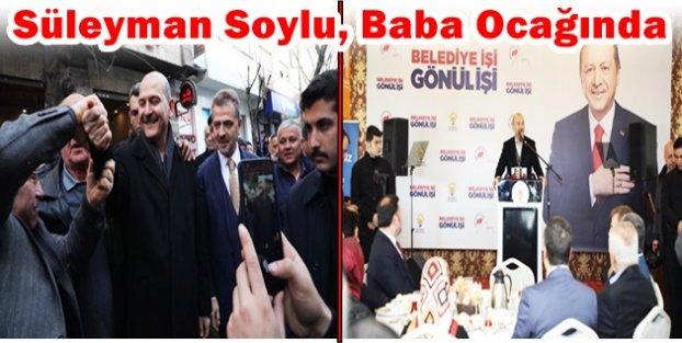 Süleyman Soylu, Baba Ocağı Gaziosmanpaşa'da Coşkuyla Karşılandı