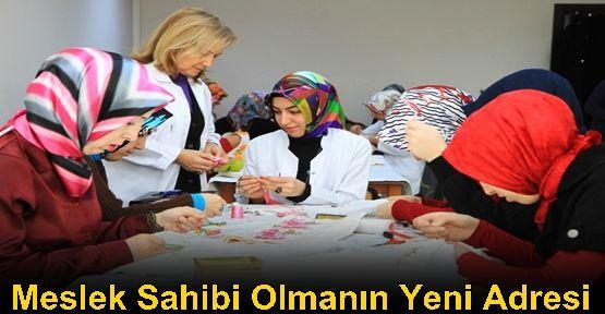 Sultangazi 50. Yıl Kültür Merkezi meslek edindirmenin yeni adresi oluyor.