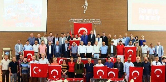 Sultangazi Belediye Meclisi'nden Ortak Deklarasyon