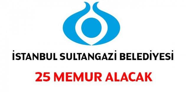 Sultangazi Belediyesi 25 Memur alacak