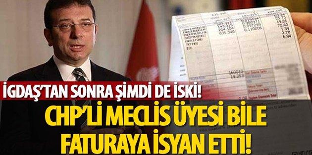 Sultangazi Belediyesi CHP'li Meclis Üyesi Bile Gelen Faturaya isyan etti!