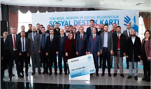Sultangazi Belediyesi Sosyal Destek Kart uygulaması başlattı