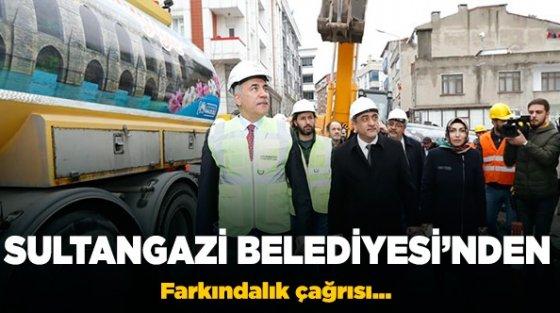 Sultangazi Belediyesi'nden depreme karşı farkındalık çağrısı