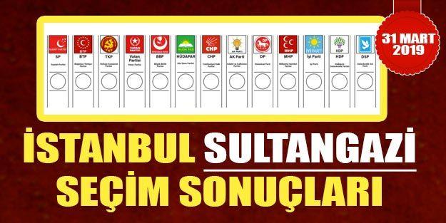Sultangazi Seçim Sonuçları