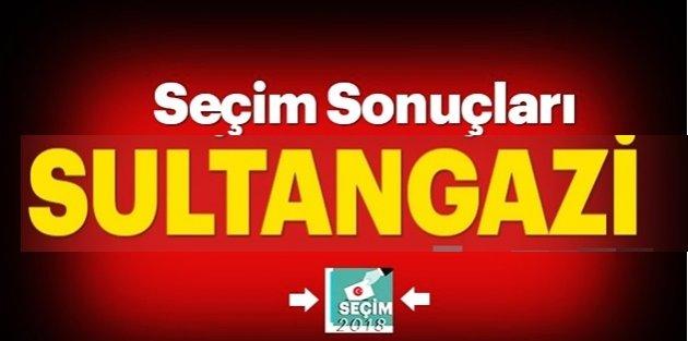 Sultangazi seçim sonuçları ve oy oranları!