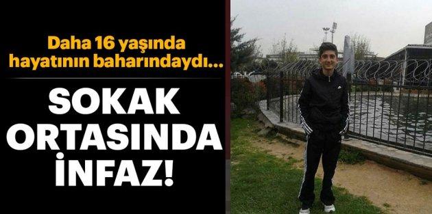 Sultangazi'de 16 yaşındaki çocuk uğradığı silahlı saldırıda sonucu öldürüldü